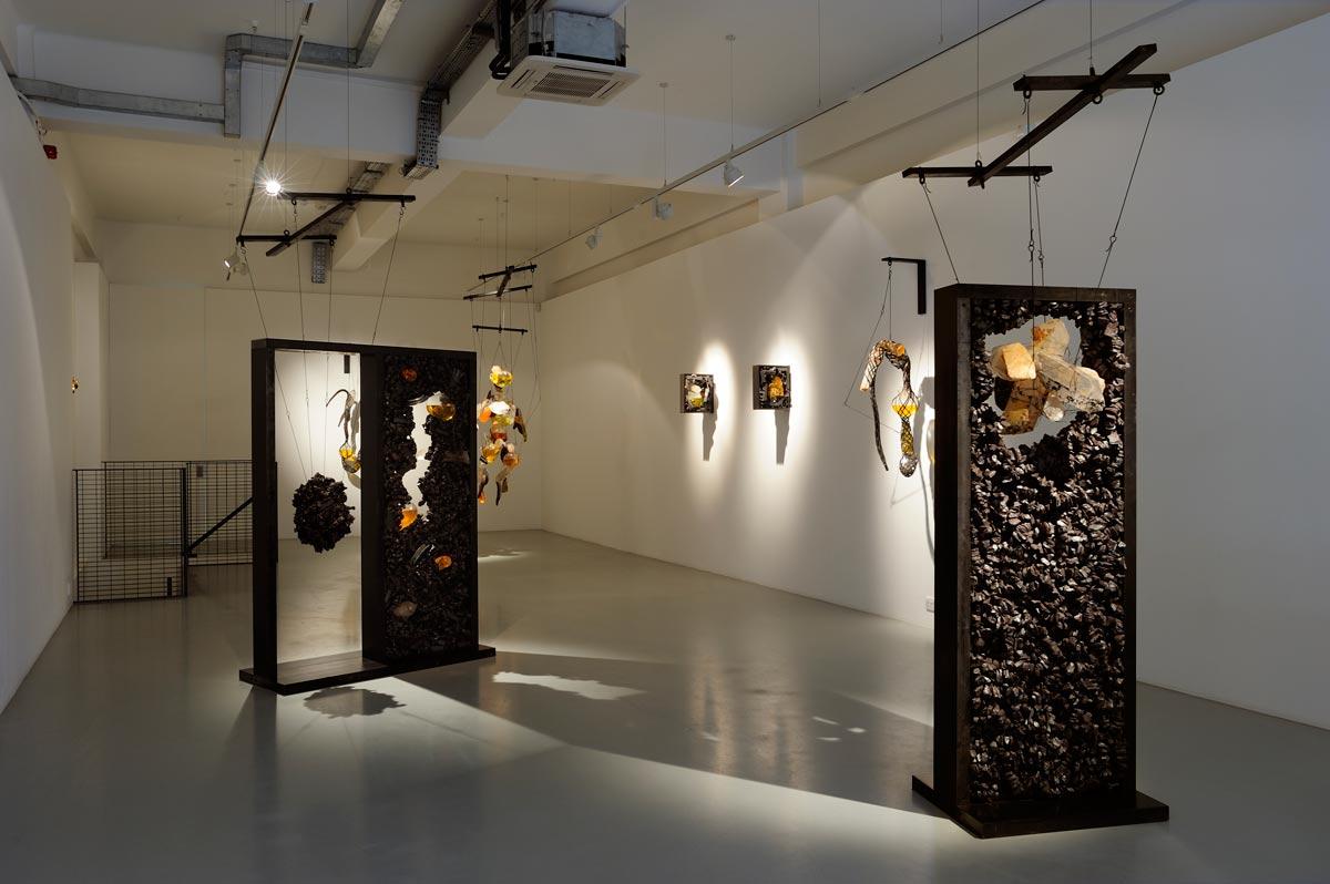 "Exposição Individual – ""Magma"" – Pilar Corrias Gallery"