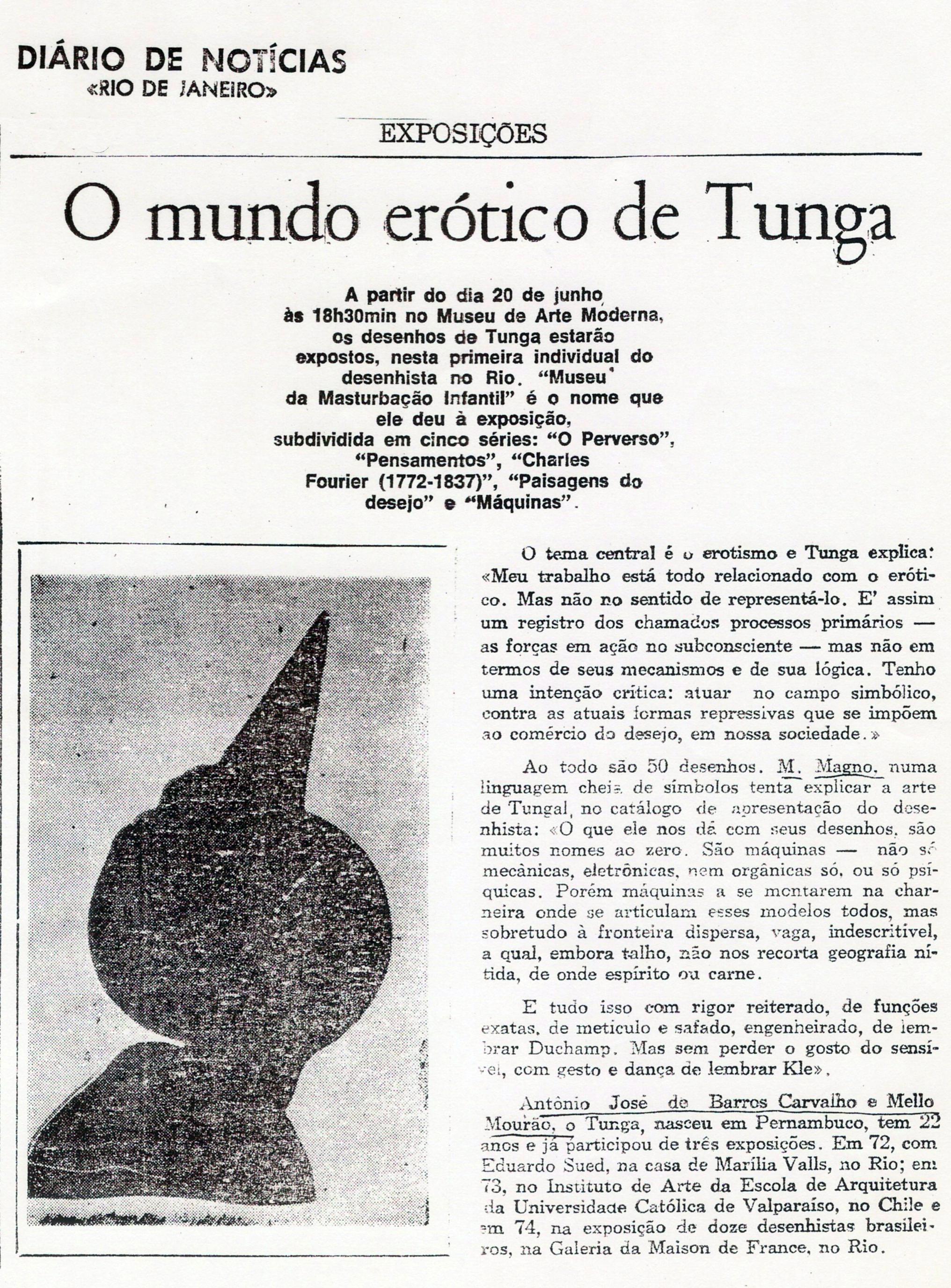 Exposição Individual – Museu de Arte Moderna do Rio de Janeiro