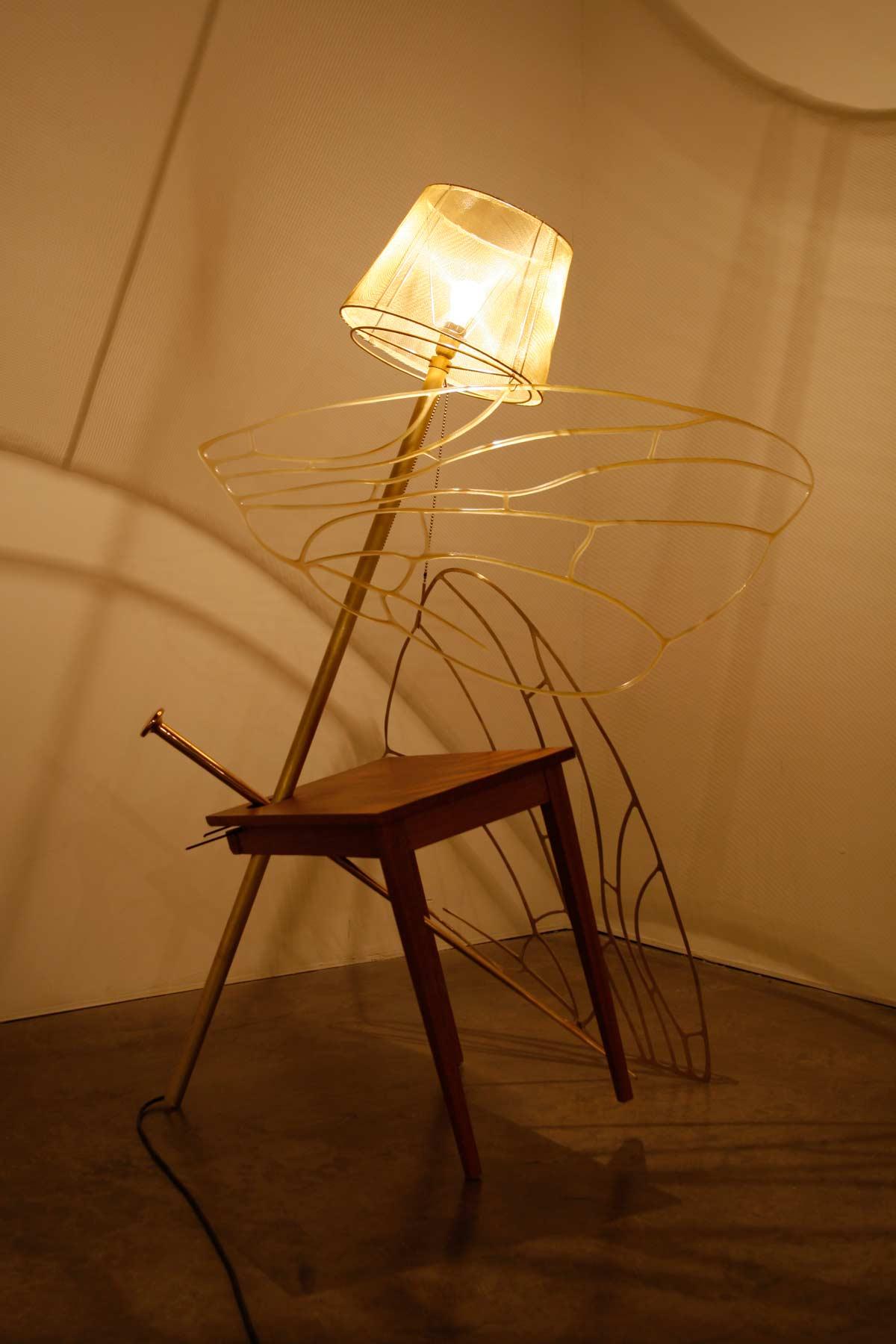 Sem título (mesa luminária)