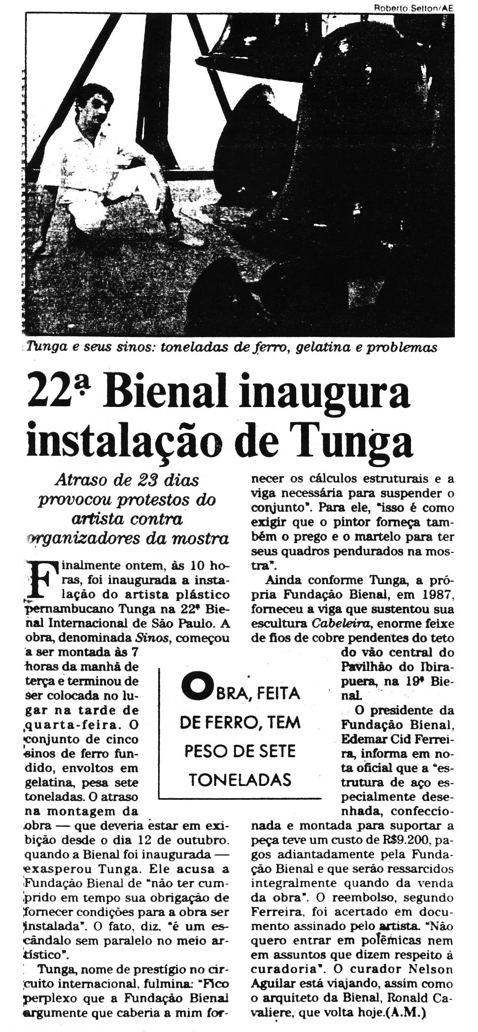 XXII Bienal Internacional de São Paulo