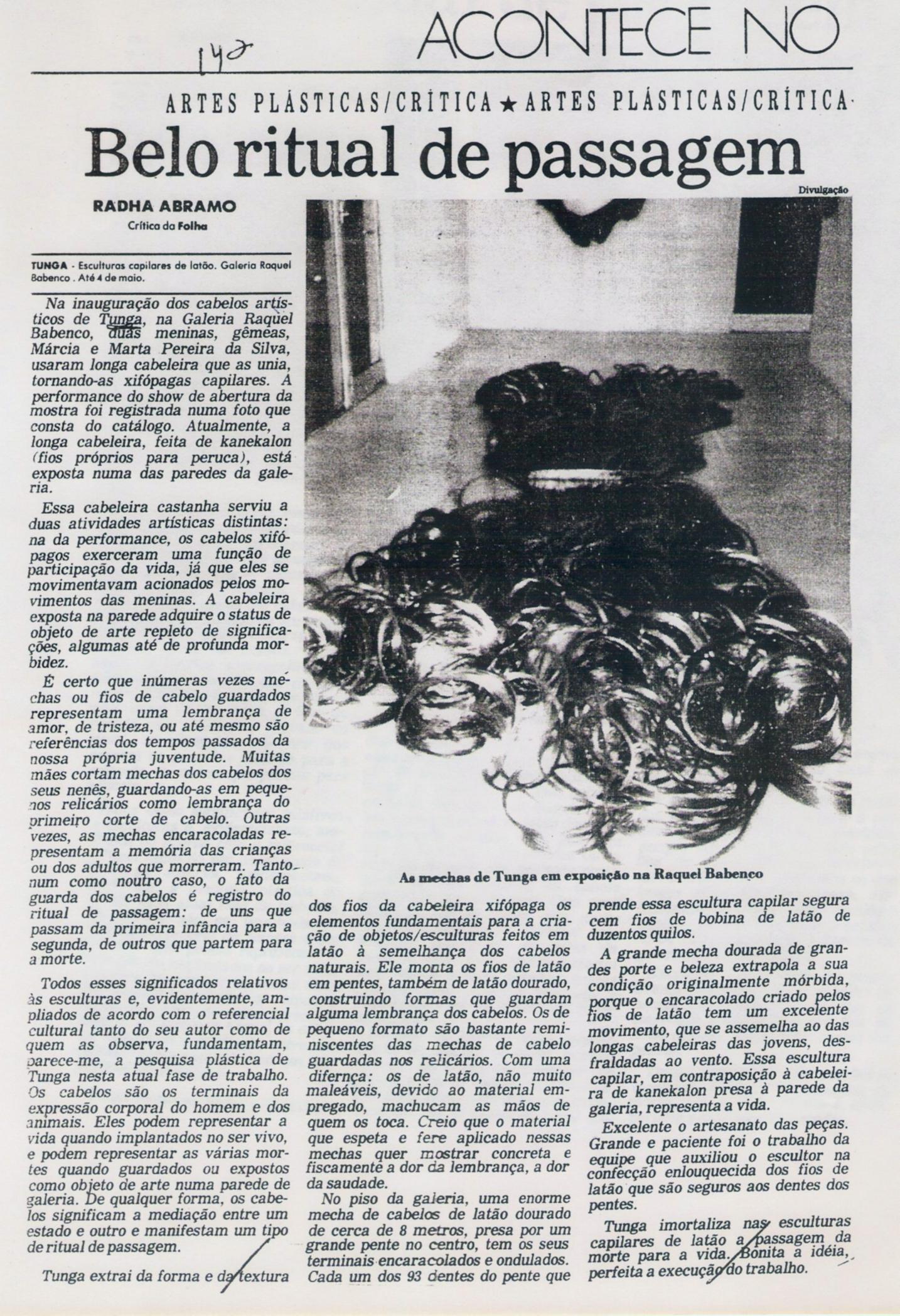 Exposição Individual – Gabinete de Arte Raquel Arnaud