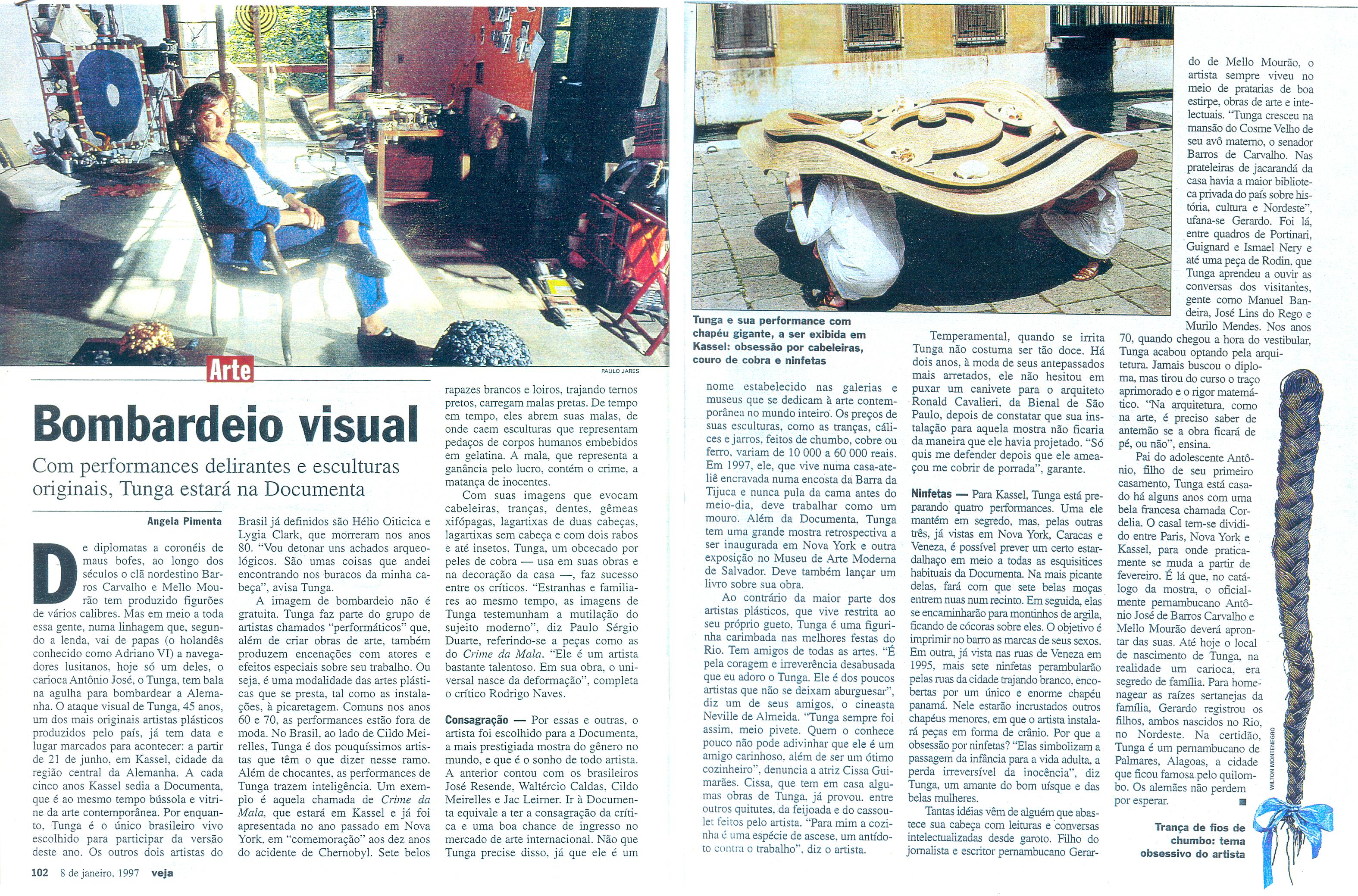 """Documenta X"" –   Kassel  – Alemanha"