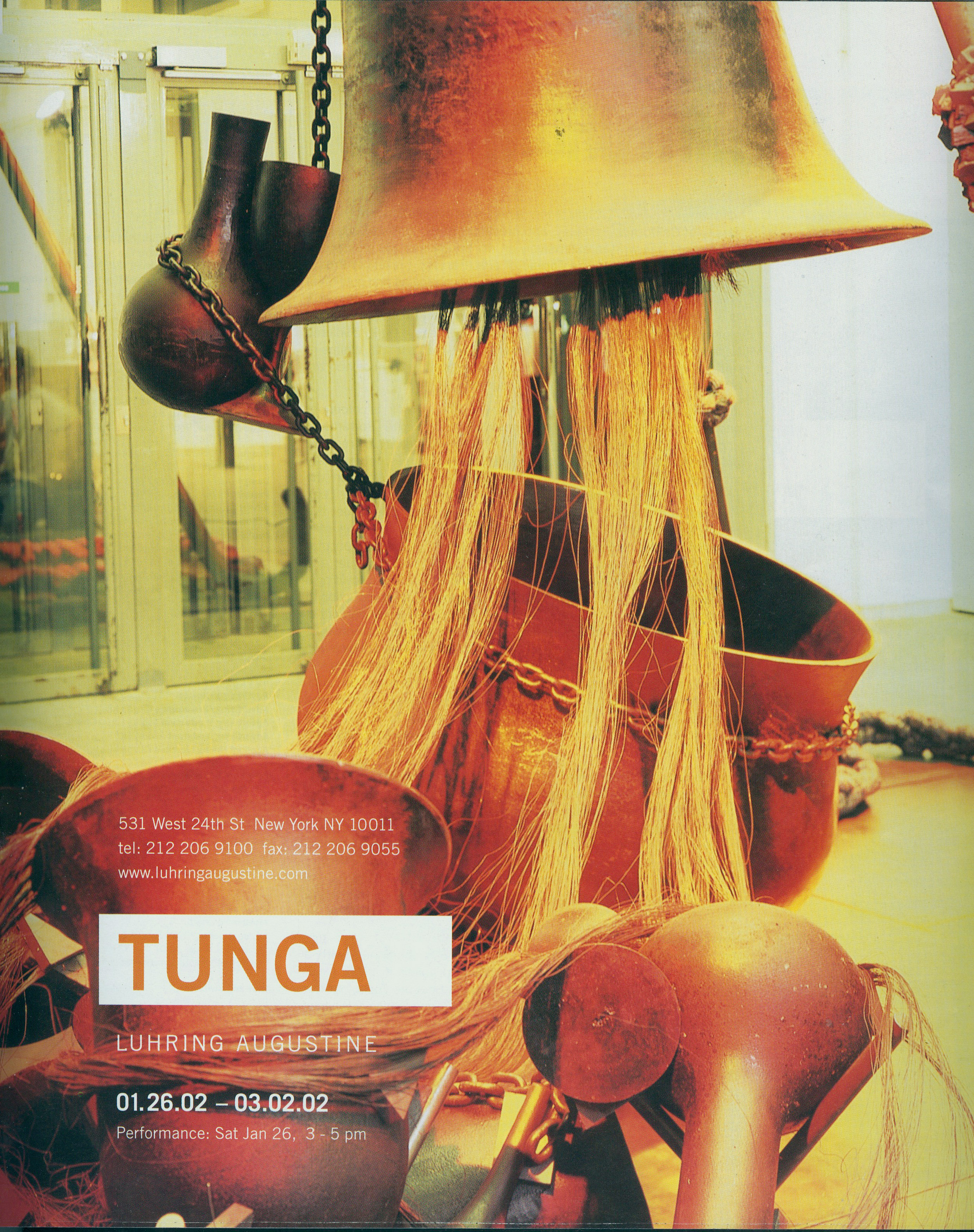 Tunga – Luhring Augustine Gallery