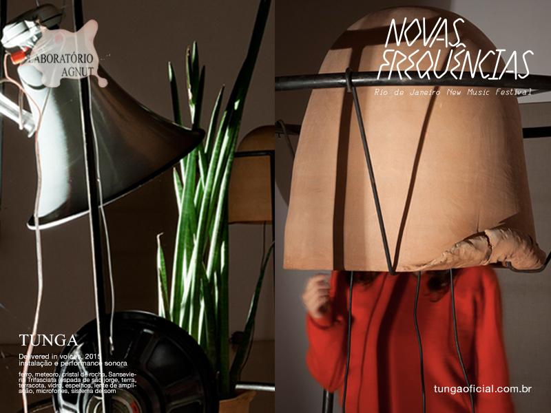 NOVAS FREQUENCIAS SOUND FESTIVAL  2015 | TUNGA | LABORATORIO AGNUT